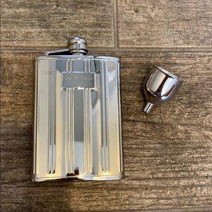 Rag & Bone Steel Flask and Funnel